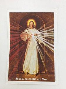 Folheto Jesus, eu confio em Vós (2216)