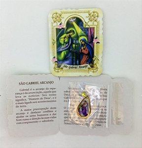 Lembrança com medalha Gota - São Gabriel (0092)