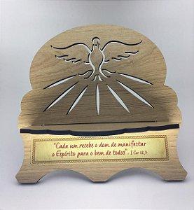 Porta Bíblia MDF - Espírito Santo (6330)