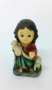 Imagem Infantil Jesus Bom Pastor 10cm (4720)