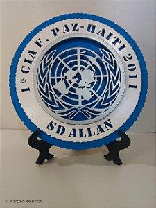 Quadro Missão de paz Haiti
