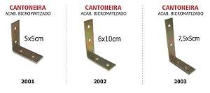 Cantoneira bicromatizada