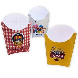 Caixa Batata Frita Personalizada