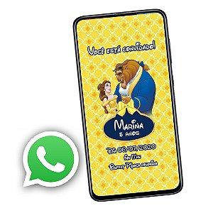 Convite Digital para Whatsapp - Personalizado