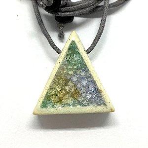 Difusor Pessoal Y&B Triangulo p/ cima Vidrado