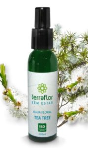 Água Floral de TEA TREE – 120 ml