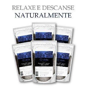 SONN TEA - Chá 100% natural com Camomila + Jasmim + Melissa + Lípia. (6 Sachês de 50g / Consumo para 36 dias / VAL.: MAR/2019)