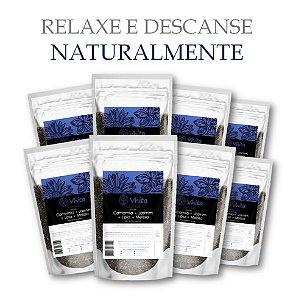 SONN TEA - Chá 100% natural com Camomila + Jasmim + Melissa + Lípia. (8 Sachês de 50g / Consumo para 48 dias / VAL.: MAR/2019)