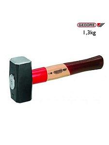 Marreta de aco 1,0 Kgs C/Cabo de madeira 620E-1000 050141 Gedore