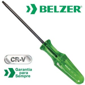 Chave Torx Reta com Cabo Ergonômica T7 - BELZER-231107BBR
