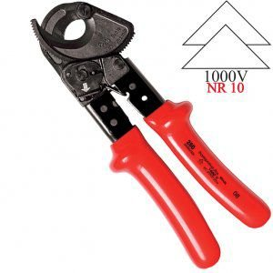 Alicate Corta Cabos IEC Isolada 260mm 44306/026 - Tramontina-Pro