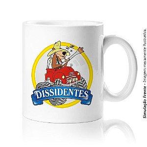 Caneca em Porcelana :: Dissidentes 4x4