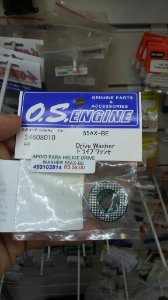 APOIO PARA HELICE DRIVE WASHER 55AX-BE