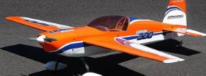 AEROMODELO EXTRA 300 AEROWORKS LARANJA E AZUL 1,53M C/ MOTOR OS 15CC
