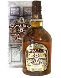 Whiscky Chivas Regal 12 anos