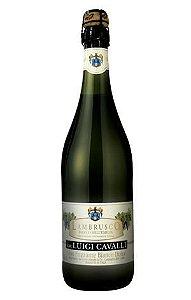 Vinho Italiano Lambrusco Luigi Cavalli Bianco 750ml
