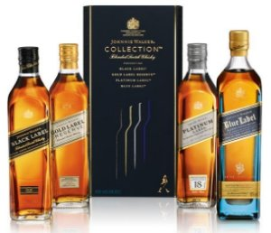 Kit Whisky Escoces Johnnie Walker Collection