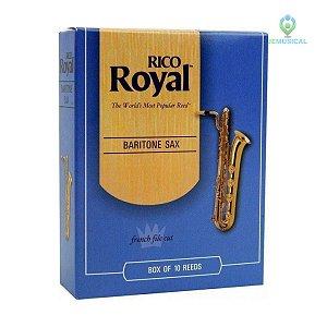 Palheta Sax Baritono Rico Royal Und