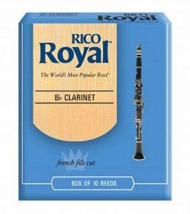 Palheta Clarinete Rico Royal Und