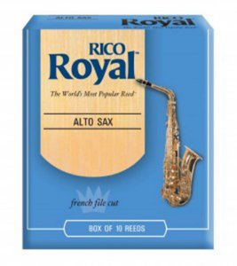 Palheta Sax Alto Rico Royal Und