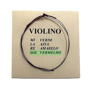 Corda Sol Avulsa M Calixto para Violino 4/4