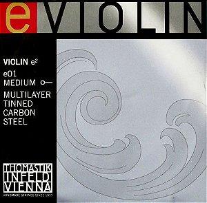 Corda Mi Avulsa Violino 4/4 Thomastik Carbono