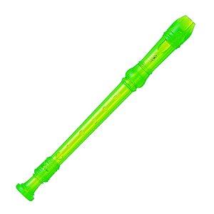 Flauta Doce Yamaha Doce Germânica YRS-20G Verde