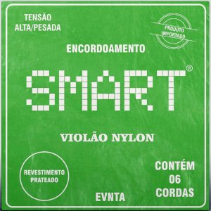 Encordoamento Violão Nylon Smart Tensão Alta