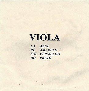 Encordoamento para Viola M Calixto Padrão