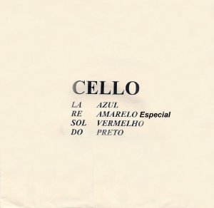 Encordoamento Especial M Calixto Violoncelo 4/4