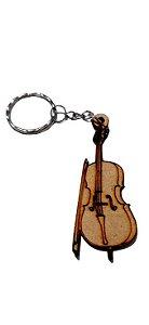 Chaveiro Violoncelo JEM003