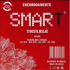 Encordoamento Ukulele Smart Nylon