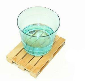 Porta copos Pallet (conjunto com 4)