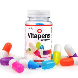 10 canetinhas marca texto Vitapens