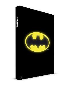 Caderno com Luz Batman - Dc Comics