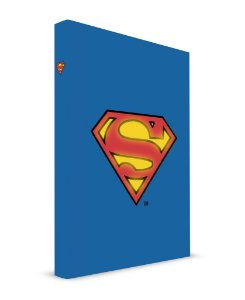 Caderno com Luz Superman- Dc Comics