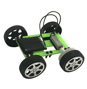 Carrinho Movido A Energia Solar - Brinquedo Educativo