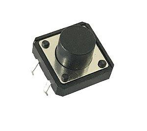 Botão Tactil Grande 12X12X8Mm - Lisa