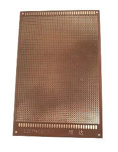 Placa De Circuito Perfurada Face Simples 12X18Cm