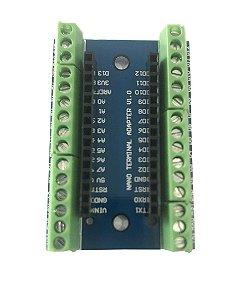 Placa Borne Terminal Adaptador Para Arduino Nano - Soldado