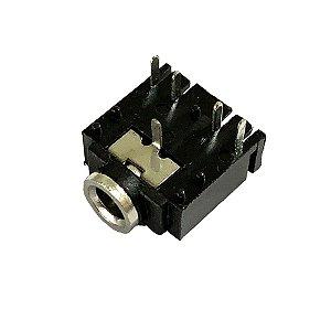 Conector Jack P2 J2 Estéreo Audio 3.5mm