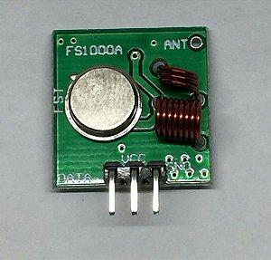 Módulo RF 433 Mhz Transmissor E Receptors