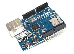 Módulo Ethernet Shield W5100 Com Slot Para SD Card