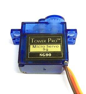 Micro Servo Motor 9g Sg90 Towerpro + Acessórios