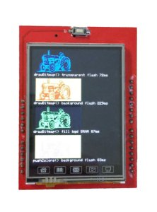 Display LCD TFT 2,4 polegadas touchscreen