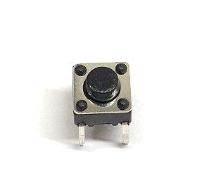 Chave Táctil Push Button 6x6x5mm - 10 Unidades