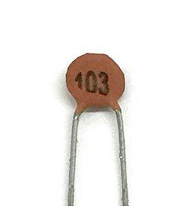 Capacitor Cerâmico 103 10nF - 10 Unidades