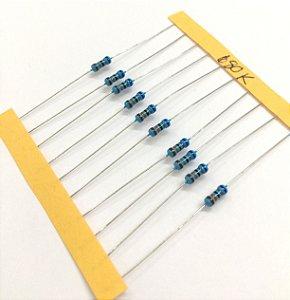 Resistor 1/4W 1% - 680K - 10 UNIDADES