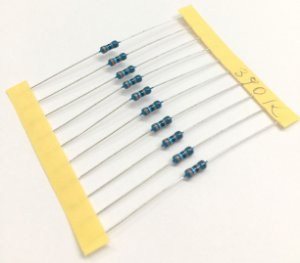 Resistor 1/4W 1% - 390K - 10 UNIDADES