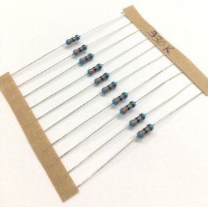 Resistor 1/4W 1% - 330K - 10 UNIDADES